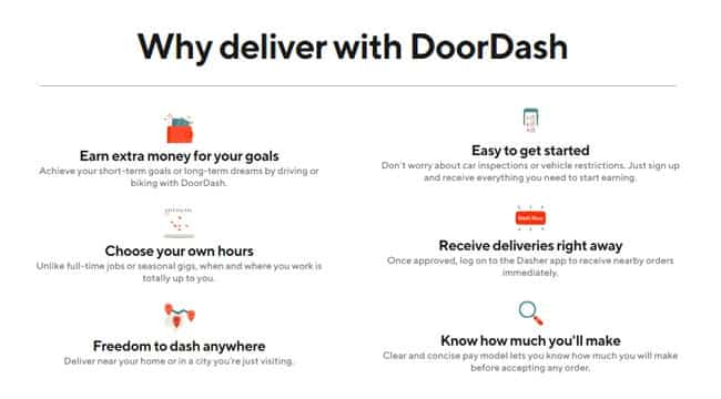 DoorDash Delivery Driver Jobs