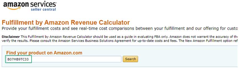 Step By Step Guide to calculate Amazon FBA product profit