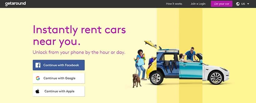 Rent Out Personal vehicle To make extra cash